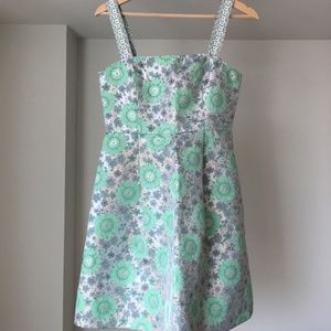 Max&Co Cocktail Dress Green/Mint (Size: 4/S)